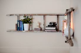 Corner Ladder Bookcase Projectdecor Diy Corner Ladder Bookshelf Fresh