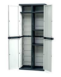 Plastic Outdoor Storage Cabinet Indoor Storage Cabinets Plastic Rubbermaid Lifetime