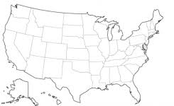 map of us states empty map of usa with states blank usa states outline usa maps us