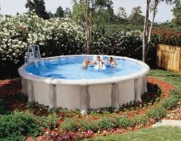 Backyard Above Ground Pools by Above Ground Pools Coleman Bright Ideas For Your Home
