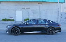 lexus f 5 0 sedan v8 spyshots 2019 lexus ls f spotted could pack twin turbo v8