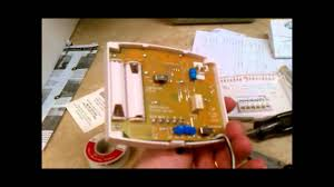 hunter thermostat install in a camper youtube