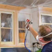 how to prep cabinets for painting how to paint cabinets with an airless paint sprayer graco