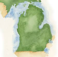 Michigan On The Map by Jaqua Realtors Southwest Michigan Real Estate