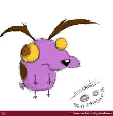 courage the cowardly dog courage the cowardly dog by jaredraws meme center