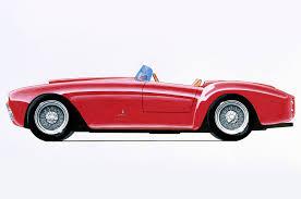 ferrari showing 60 historic cars at rodeo drive