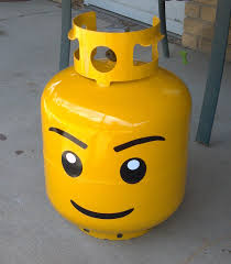 Backyard Grill Refillable Propane Tank by Lego Head Grill Propane Tank Kit 10 00 Via Etsy Order And