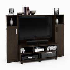furniture real black wooden entertainment center design ideas