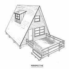 free a frame cabin plans a frame house plans lovely free a frame house plan with deck a