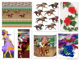 Kentucky Derby Decorations Horse Racing Themed Centerpieces Pictures Of Horses