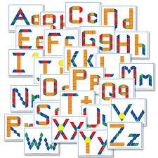 printable alphabet mat free alphabet pattern block printables confessions of a homeschooler