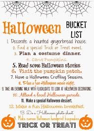 halloween bucket list free printable halloween bucket list