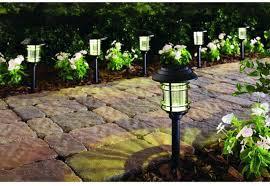 Best Path Lights by Bright Solar Led Outdoor Lighting Landscape Kits Light Yard Path