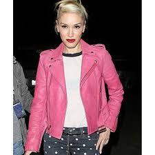 pink motorcycle jacket gwen stefani jacket women u0027s pink leather jacket