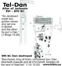 king jeroboam tel dan high place altar 1340 723 bc they u0027re