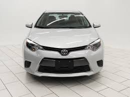 certified pre owned 2015 toyota corolla le 4dr car in mishawaka