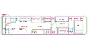 school bus floor plan bus motorhome layouts with model type fakrub com