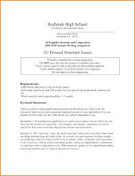 Nursing Entrance Essay Examples Uc Application Ii Personal Statements Uc Application Essay Example
