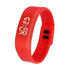 led rubber bracelet images Unisex led sport running watch date rubber bracelet digital wrist JPG
