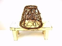 small woven vine lampshade twig lamp shade 5 7 00