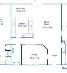 small 4 bedroom ranch house plans basic 4 bedroom house floor