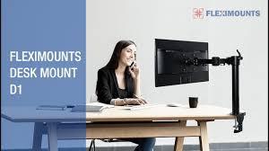 Motion Desk Fleximounts D1 Full Motion Desk Mount Stand Fits 10 30