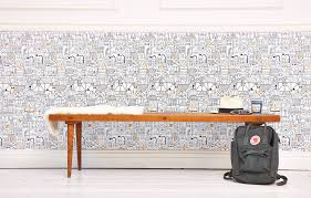 Chasing Paper Removable Wallpaper Lisa Congdon Little Village Removable Wallpaper U2013 Chasing Paper