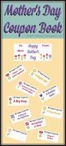 free mothers day coupon book printable mom gift for mother