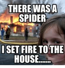 Spider Fire Alarm Meme - list of synonyms and antonyms of the word house fire girl meme