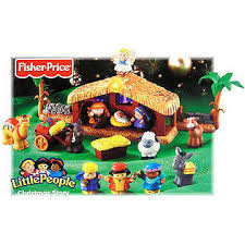 fisher price little people christmas story nativity 45