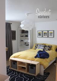 bedroom ikea king platform bed with storage ottoman box ikea