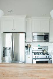 White Cabinets Kitchen Fridge And Stove Next To Each Other Google Search Kitchen