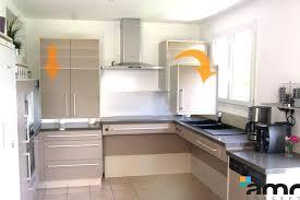 hauteur entre meuble bas et haut cuisine hauteur meuble haut de cuisine hauteur entre plan de travail et