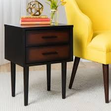 Shaker Style Nightstand Cherry Finish Nightstands U0026 Bedside Tables Shop The Best Deals