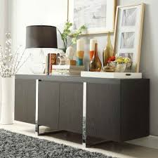 dinning black buffet cabinet large sideboard contemporary