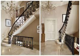 Spindle Staircase Ideas Decorations Bold And Stylish Ornate Wrought Iron Stair Spindle