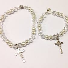 baptism charm bracelet 37 best baptismal bracelet and souvenir images on