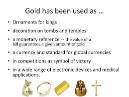 gold why is it so valuable ornaments for decoration on