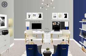 contemporary modern glam living room design by havenly interior living room final design