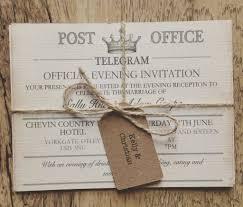 vintage wedding invites wedding sle vintage travel wedding invitationtelegramation