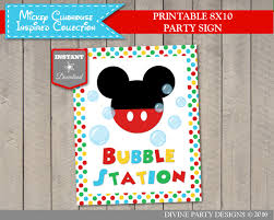 best 25 mickey mouse clubhouse games ideas on pinterest mickey mickey mouse clubhouse birthday party game and activity ideas printable bubble station sign use promo code to save off purchase