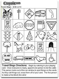 travel bingo free printable bingo cards and games