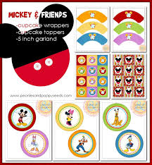 538 mickey mouse birthday printables images