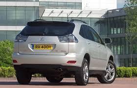 lexus rx 400h hybrid 2005 lexus rx estate review 2003 2009 parkers