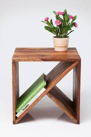 wood cube end table down to basics decorating with cube furniture with purple exterior