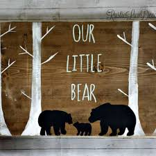 Rustic Nursery Decor Rustic Nursery Decor Teddy Decor Baby Room Decor Pink Baby