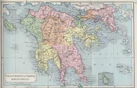 Map Of Ancient Greece The Atlas Of Ancient And Classical Geography