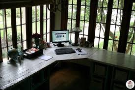 Desk Pottery Barn Rustic Office Desk Pottery Barn Style Hoosier Homemade
