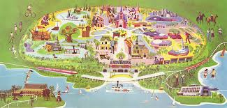Disney Florida Map by Insights And Sounds The First Walt Disney World Map