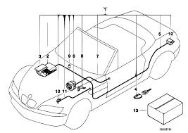original parts for z3 z3 1 9 m44 roadster audio navigation